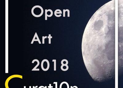 Curat10n Open Art 2018 - immersive innovation interactive design app virtual 3D curat10n art exhibiton gallery virtual artist installation
