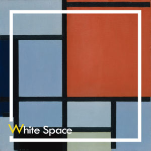 Piet Mondrian Composition Curat10n Demo Product White Space