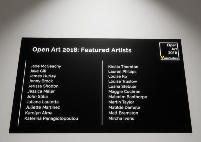 Open Art 2018 Artists Part 2 - interactive art exhibition virtual gallery curat10n immersive 3d vr game technology space tech design visualization innovation
