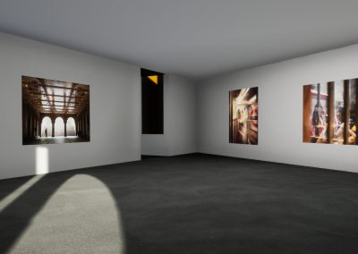 Cube Gallery Nathalie Chace - interactive art exhibition virtual gallery curat10n immersive 3d vr game technology space tech design visualization innovation