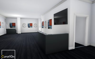 3D Gallery Visualisation – Maddox Gallery