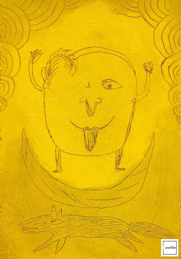 """Licks"" - by Moich Abrahams (original) - Buy original artwork & prints in the Curat10n Art Shop"