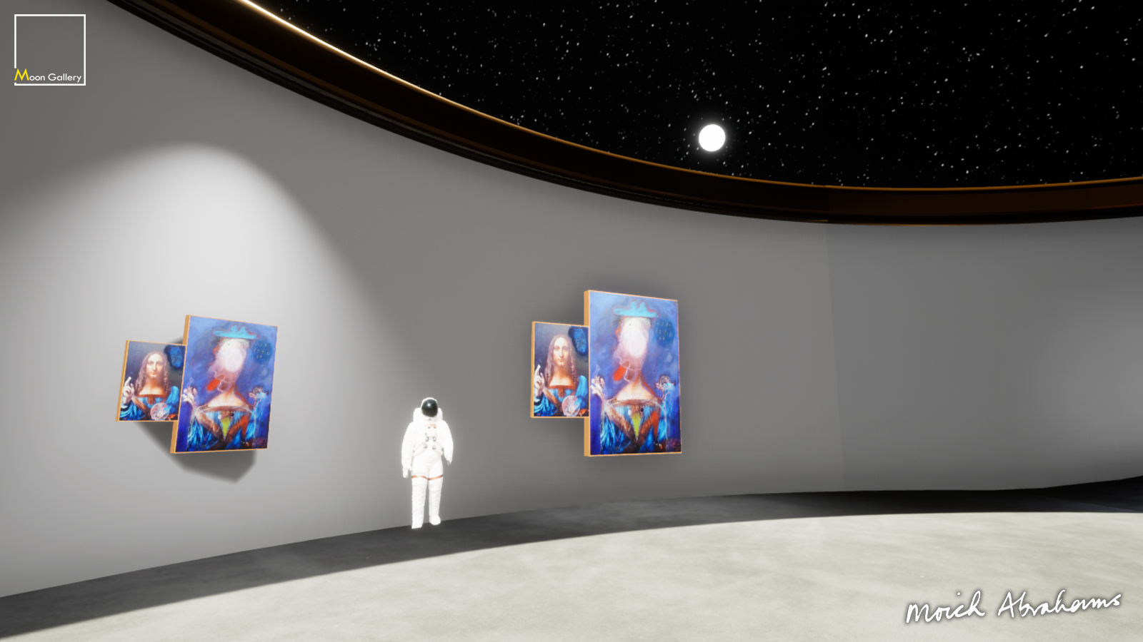 Immersive Exhibition Space - Show art in a virtual gallery