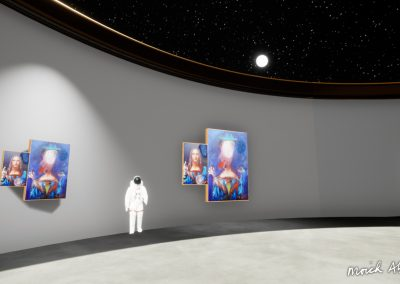 Moich Vini Vidi Vici - Moich Moon Gallery - Curat10n virtual art exhibition 3D interactive app download