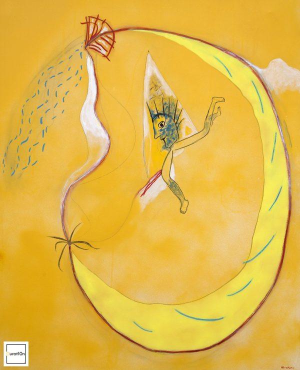 """Kaprun Ghost"" - by Moich Abrahams (original) - Buy original artwork & prints in the Curat10n Art Shop"