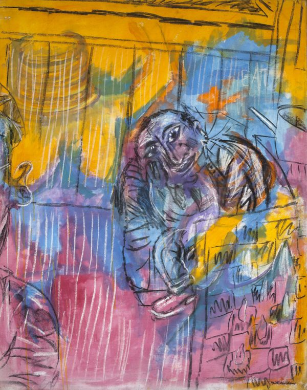 """Reflexion"" - by Moich Abrahams (original) - Buy original artwork & prints in the Curat10n Art Shop"