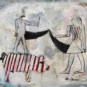 """The Archetypes"" - by Moich Abrahams (original) - Buy original artwork & prints in the Curat10n Art Shop"