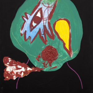 """Alien"" - by Moich Abrahams (original) - Buy original artwork & prints in the Curat10n Art Shop"