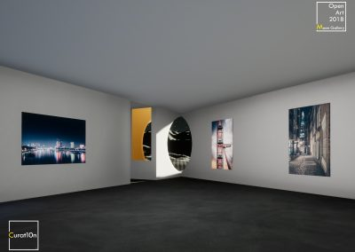 4-3 Denial - virtual gallery - 3d immersive art exhibition and interactive artist visualisation - curat10n