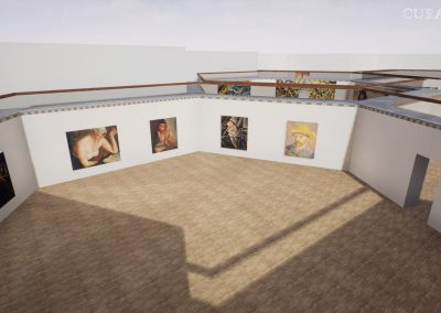 archive visualize 3d hive gallery exhibition virtual gallery cura app curat10n
