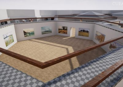 artist 3d hive gallery exhibition virtual gallery cura app curat10n