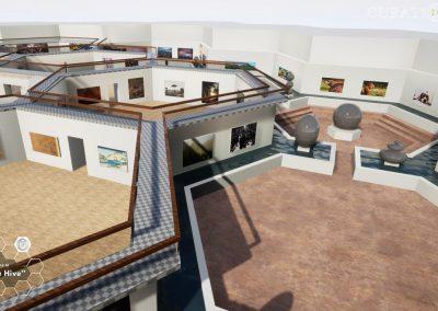 artist digital hive gallery exhibition virtual gallery cura app curat10n
