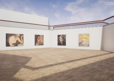 collector sales visualize 3d hive gallery exhibition virtual gallery cura app curat10n
