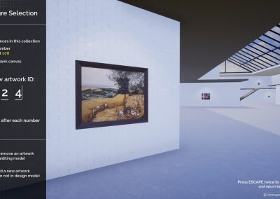 display exhibition planning design virtual gallery edit curat10n curate 2