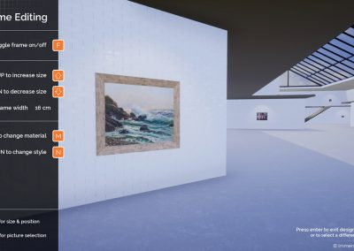 exhibition planning archive design virtual gallery edit curat10n curate 2