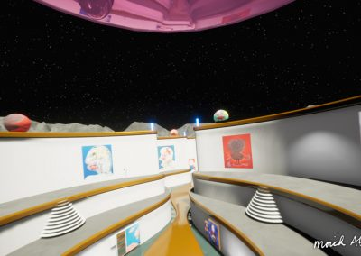 moich abrahams big headsvirtual exhibition moon gallery curat10n