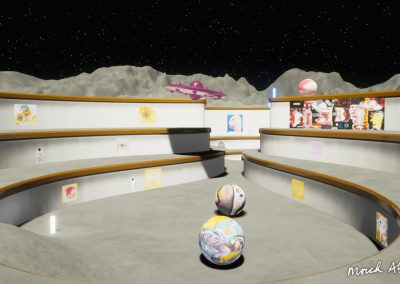 moich abrahams pc mac app 3d virtual exhibition moon gallery curat10n 1