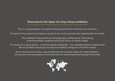 opencall open art curat10n exhibition virtual gallery app