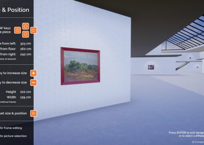 software exhibition planning design virtual gallery edit curat10n curate 2