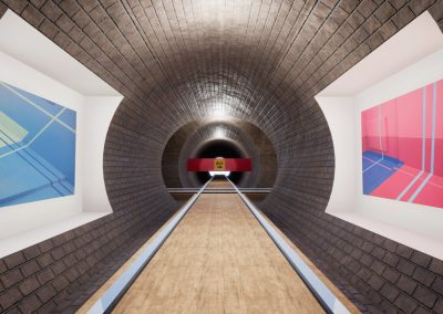 exhibition open 3d app art virtual gallery london curat10n curate
