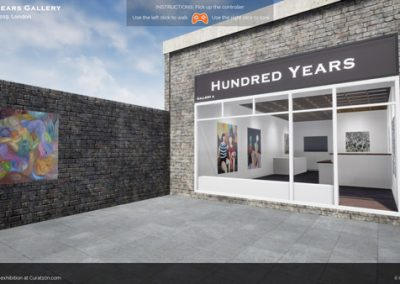 app hundred years exhibition london 2019 virtual gallery curat10n
