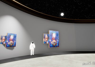 leonardo moich abrahams virtual exhibition moon gallery curat10n