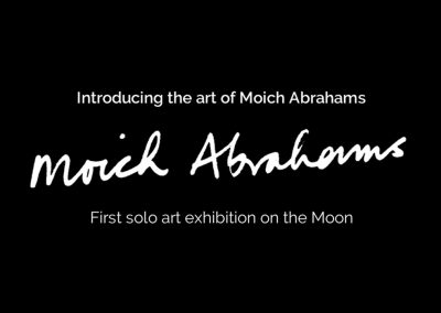 moich abrahams solo moon exhibition moon gallery curat10n