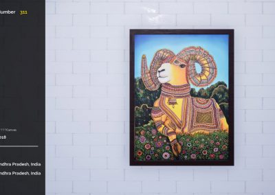 srinivasa rao open art curat10n exhibition virtual gallery app