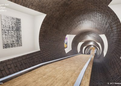 tunnel underground exhibition open art virtual gallery london curat10n curate