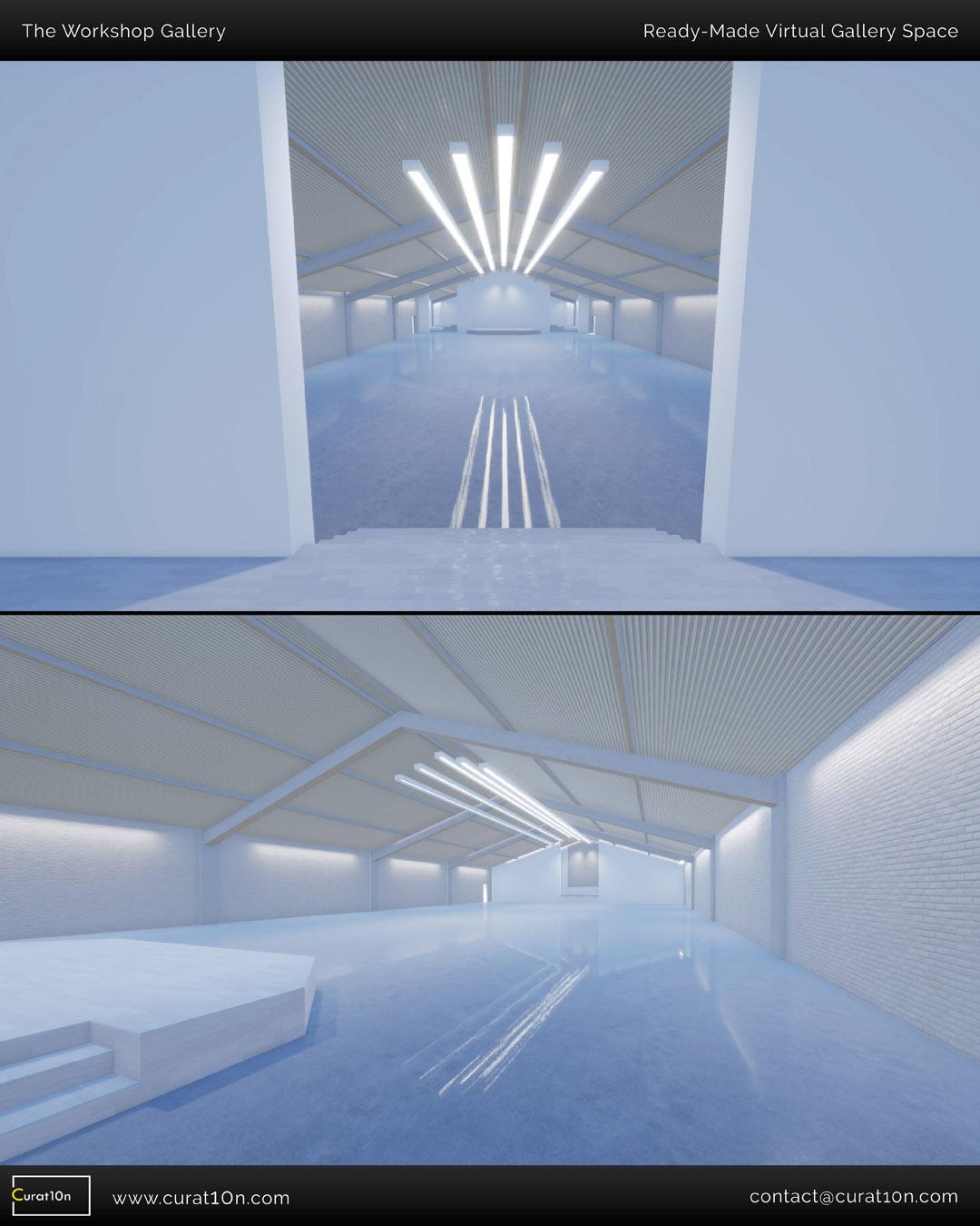 Mezzanine Gallery - Demo Virtual Exhibition - Curat10n Art Gallery